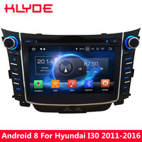 KLYDE 4G WIFI Octa Core 4GB RAM 32GB ROM Android 8.0 7.1 Car DVD Multimedia Player For Hyundai I30 2011 2012 2013 2014 2015 2016