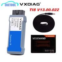 VXDIAG VCX NANO For Toyota TIS Latest V13.00.022 USB 2.0 Fully compatible With SAE J2534 VXDIAG For TOYOTA Cars OBD2 Scanner