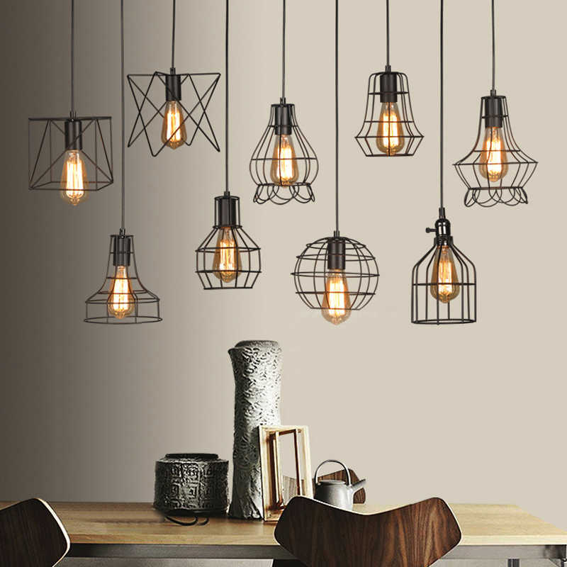 Antique Edison Style Metal AC 100~240V Lamp Base E27 Vintage Retro Lamp Holder Pendant Bulb Light Screw Socket 220V 110V 230V