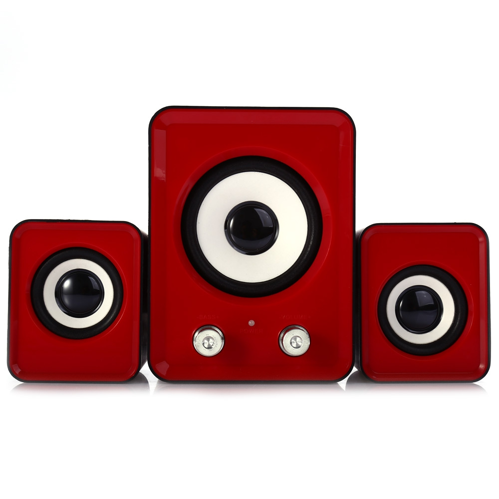 Ofnote YD - UP 2.1 USB Portable Multimedia Speaker Small Stereo Subwoofer Loudspeakers For Computer Phone PC Laptop