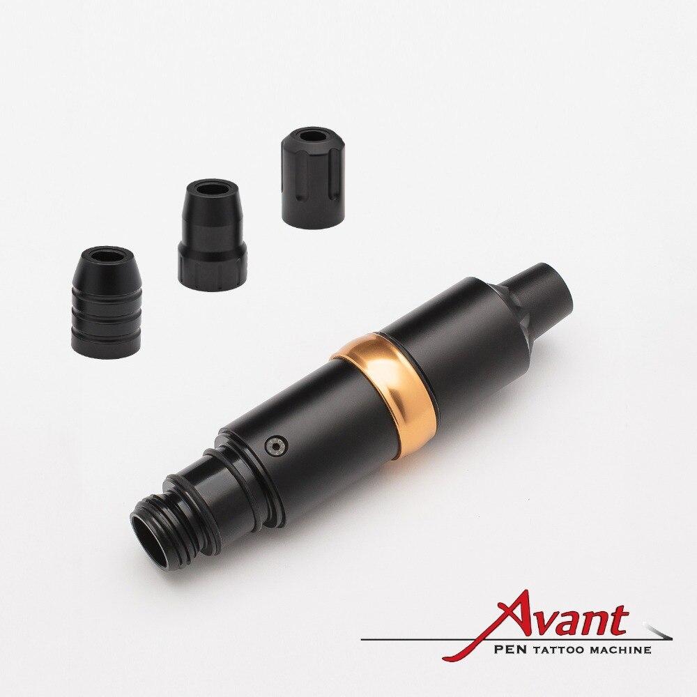 EZ Avant Швейцарский двигатель maxon заправляемая ручка машина для разборки дизайн с адаптером RCA 3 различных опционных захватов татуировки