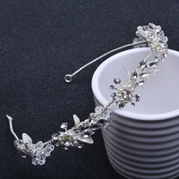 Hot Sale Tiara Wedding Vintage Style Bridal Hair Accessories Crystal Bouquet Collection Top Quality Handmade