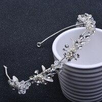 Sıcak Satış Tiara Düğün Vintage Stil Gelin Saç Aksesuarları Kristal Buket Koleksiyonu En Kaliteli El Yapımı