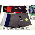 3pcs/lot 6 Colors Mens Gig and Tall Boxer Shorts Classic Design Underwear Bulge Pouch Underpants With Plus Size XXL-5XL