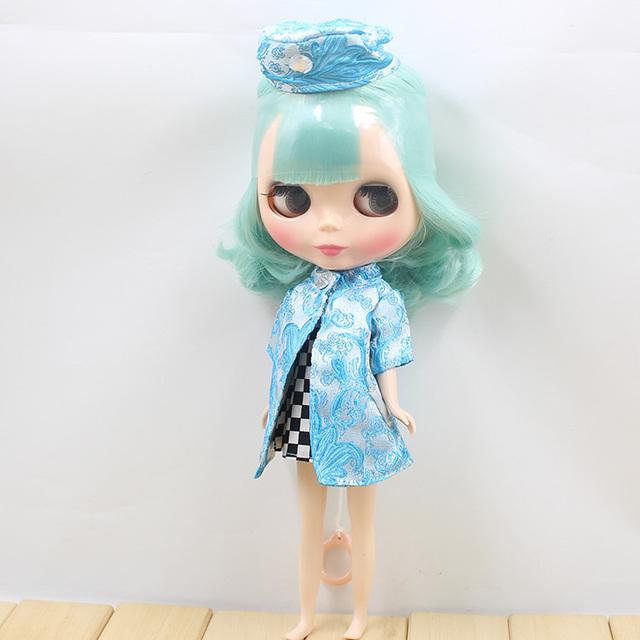TBL Neo Blythe Doll Mint Hair Regular Body