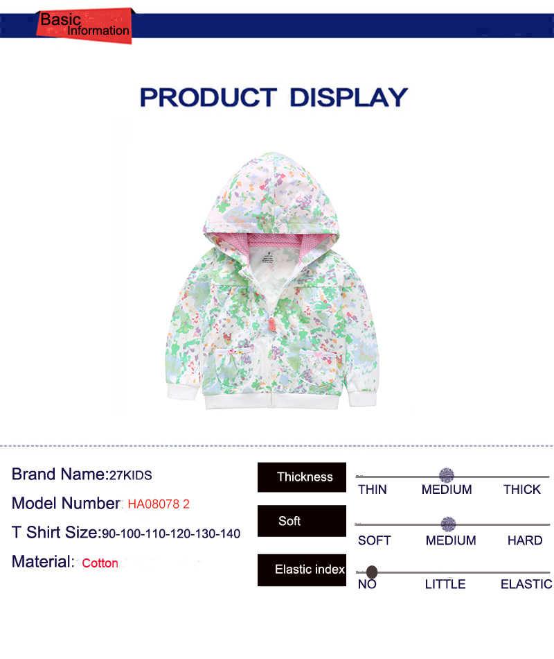 27kidsbaby kleding jongens meisjes hoodie katoen muticolor toevallige sweater kids kinderen sport hoodies Sweatshirt Met Rits