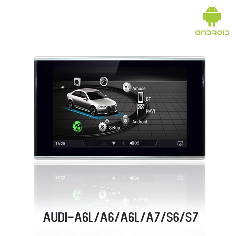 NVTECH Multimedia Navigation Dashboard DVD Player 8'' for Audi A6 /A6L/A7/ S6/S7 (only fit MMI ) 2012 2015