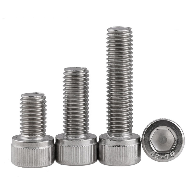 [M5] DIN912 304 Stainless Steel Hexagon Socket Screws M5 * 6/8/10/12/16/20/25/30 / 40-150