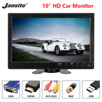 Jansite 10 Car Monitors IPS camera Car Rear View monitor Parking Rearview System with Backup cameras wide range of applications