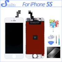 20pcs For IPhone 5 5S 5C LCD Display Digitizer With Touch Screen Replacement Mobile Phone LCD