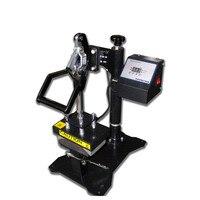 CP815B 8*15cm manual shaking head hot cap machine heat press cap machine