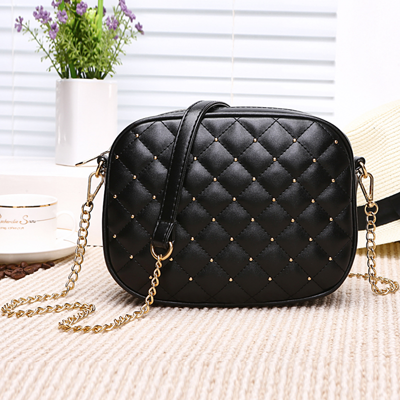 Antbook New Hot Sale Women Messenger Bags Brand Designer Shoulder Bags Rivet Chain Strap Crossbody Bags For Women Bolas FemininaAntbook New Hot Sale Women Messenger Bags Brand Designer Shoulder Bags Rivet Chain Strap Crossbody Bags For Women Bolas Feminina