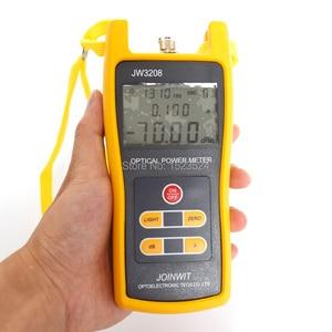 Image 2 - Verwendet in Telekommunikation Feld Günstige JW3208A 70 ~ + 6dBm Handheld Fiber Optic Power Meter