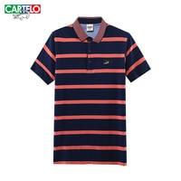 Cartelo brand 2017 new fashion classic cotton striped men s classic short sleeved polo shirt men.jpg 200x200