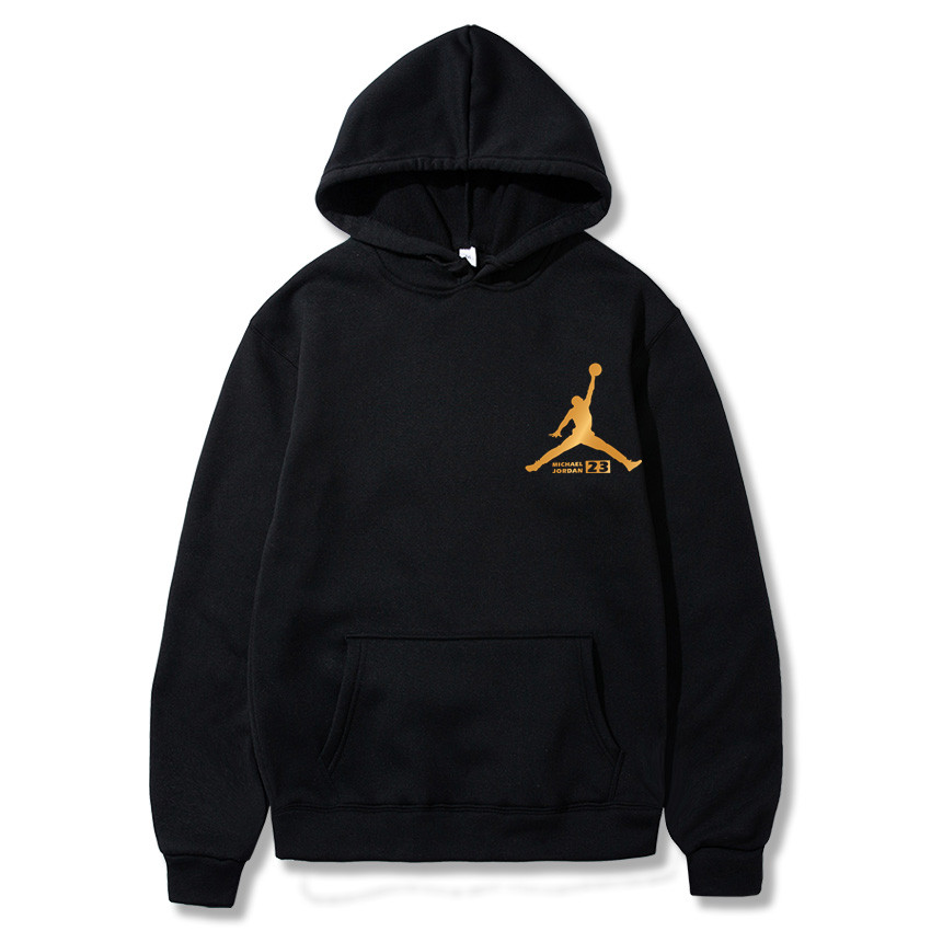 Hooded Clothing Pullover 23-Printed Sportswear Men Sweatshirt Hip-Hop Male Autumn High-Jordan