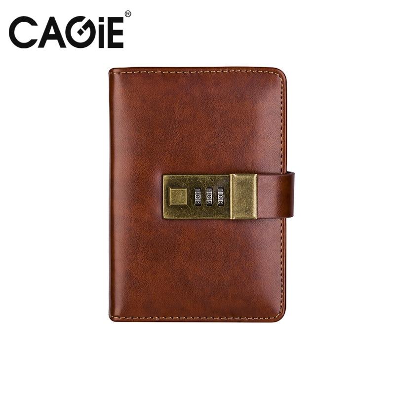 CAGIE vintage α7 σημειωματάριο καφέ / - Σημειωματάρια - Φωτογραφία 4