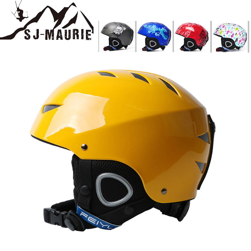 Unisex Adults Cycling Helmet Outdoor Snow Sports Ski Snowboard Head Protector Gear Cycling Safety Equipment Bracing Up The Whole System And Strengthening It Security & Protection Access Control Cards