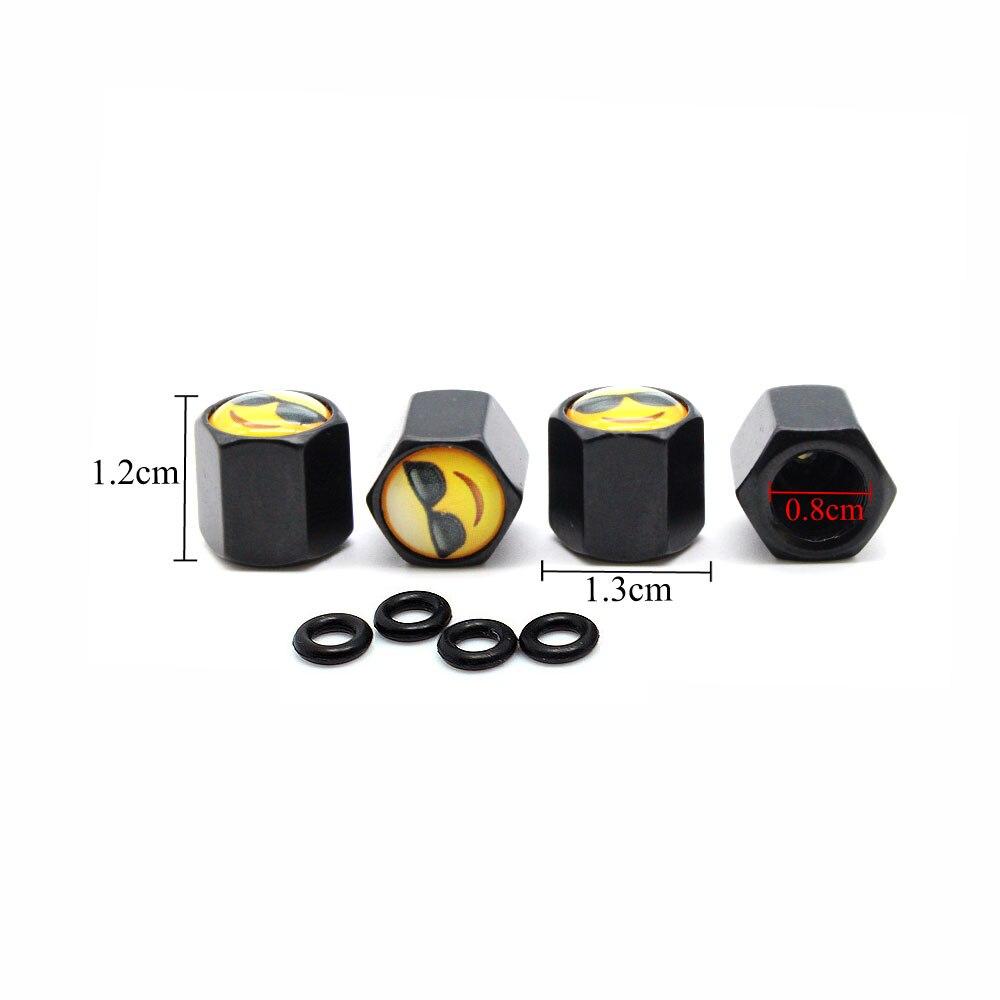 Utility 4Pcs Alloy Car Auto Bike Tyre Tire Cover Wheel Stem Pro Air Valve Caps C