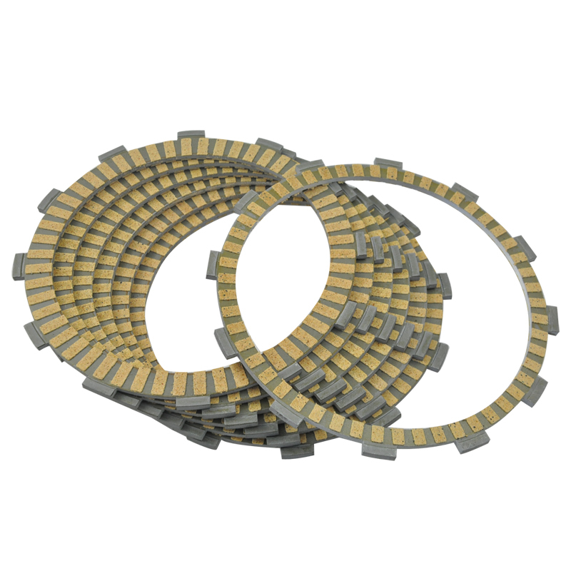 LOPOR 7 pcs Motorcycle Friction Clutch Plates For Honda RVT1000R RC51 2002-2006 VTR1000SP RC 51 2002-2005 RVT1000 R VTR100 SP