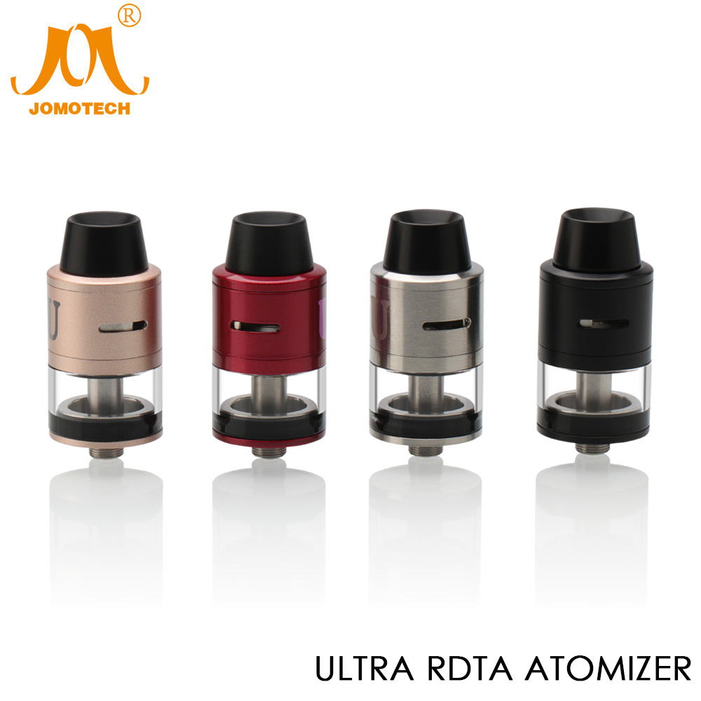 Original JomoTech Ultra RDTA DIY Atomizer Electronic Cigarette 2ml Rebuildable Tank with Dual 0.25ohm Replacement Coil Jomo-172