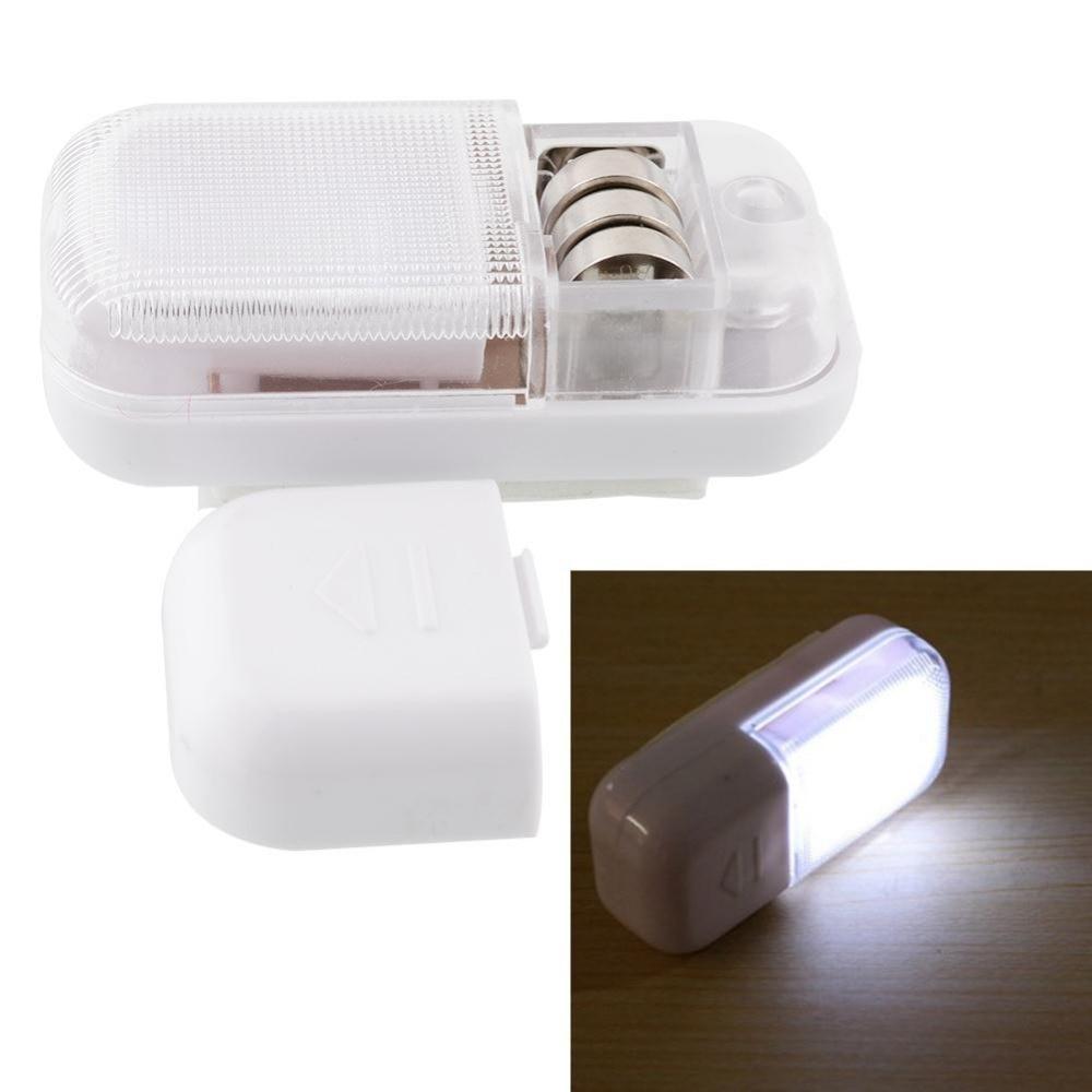 Mini Otomatis Magnetic Sensor Sensitif Wireless LED Light Kabinet Pintu Lamp Night Light