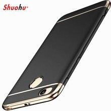 SHUOHU Luxury Phone Bag Case for Xiaomi Redmi 4x Case Xiaomi Redmi 4x Cover for Redmi Note 4x Cases Cover 5.5 Hybrid Housing