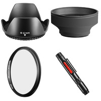 Neewer 55MM Accessory Kit For SONY Alpha Series A99 A77 A65 A58 A57 A55 A390 A100