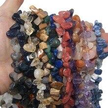 Wholesale 5-12 MM Irregular Shape Side Hole Natural Stone Agates Lapis lazuli Pink Quartz Beads For Jewelry Making DIY Necklace lapis lazuli round 16 mm leopard clasp necklace 18 nature wholesale beads