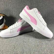 20552adb4d20 Original Puma X Bts Court Star Korea Women Cadet Shoes Pink Plates Series  Leisure Badminton Shoes