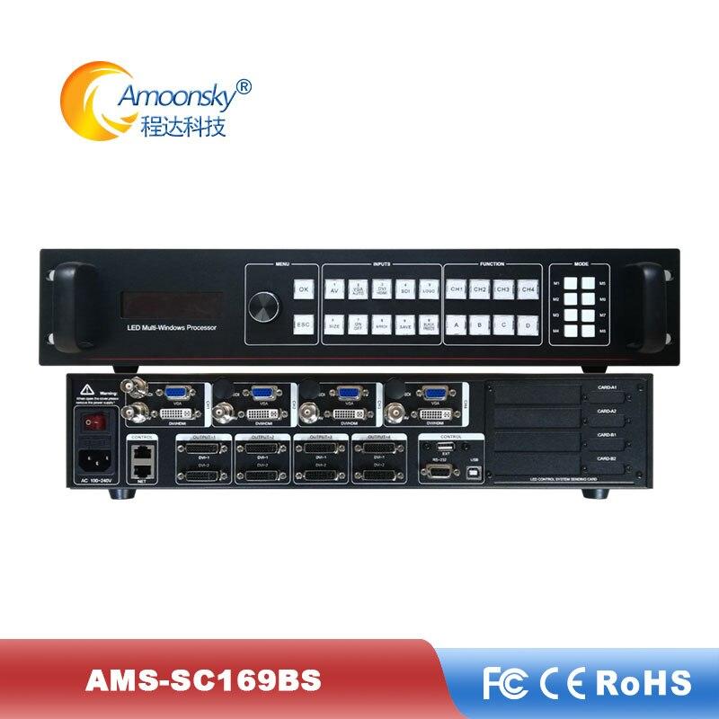 Rental LEDscreens Display Video Processor Support 8 Sending Card LED Screen Video Processor For P3.91 Display Perimeter