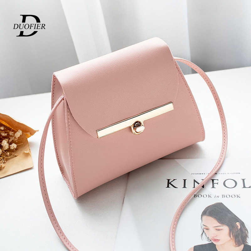 Designer Crossbody Bag For Women 2019 New Fashion Wild Pu Leather Women Bag Ladies Tote Shoulder Bags Messenger Bag High Quality