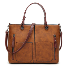 Women handbags Vintage PU leather shoulder bags female 2018 new arrivals large capacity All-Purpose crossbody bags