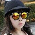 Sistemas de los niños Diseñador de la Marca Gafas de Sol Deportivas gafas de sol para bebés Niños Niñas Niños gafas de sol de plástico UV400 gafas de Sol de Marco