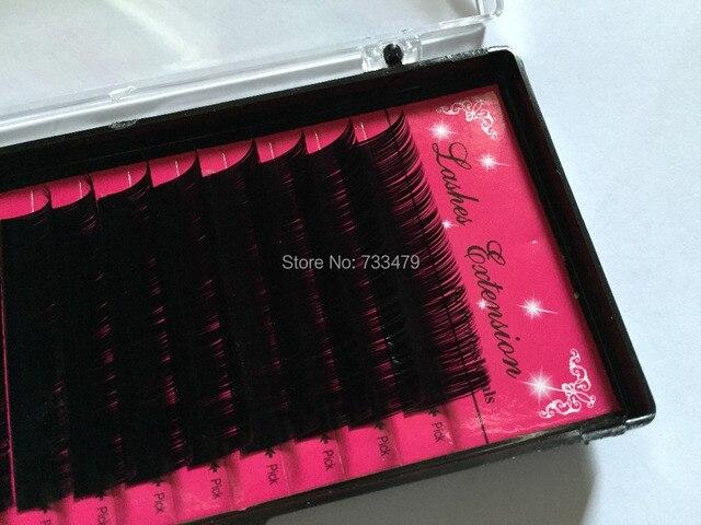 BFF Brand Eyelashes extension 0.05/0.07/0.15/0.2/0.25mm bright synthetic mink makeup Fake False Eye Lash Individual Eyelashes 3