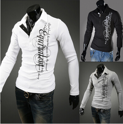 Free shipping Mens slim fit V-neck Bottoming shirt fashion knitwear for men classic mens ...