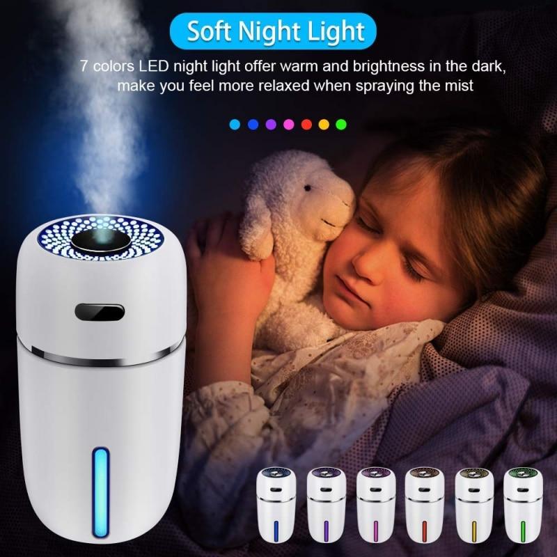 2019 Mini Car Air Humidifier Home Silent Desktop Portable USB Air Purifying Humidifier
