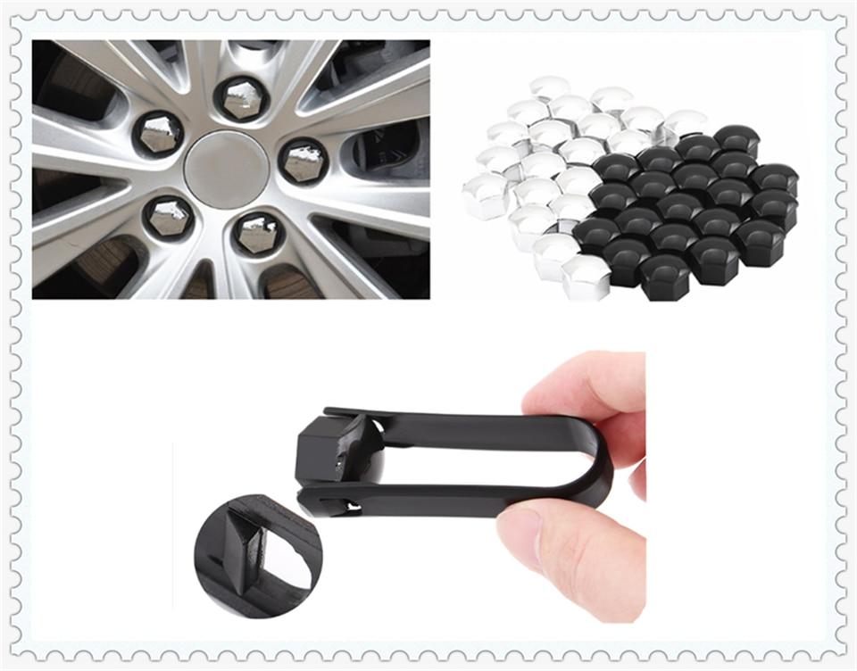 20 x Black Hex Wheel Nuts M12x1.5 Fits Toyota Corolla Hilux Land Cruiser 4