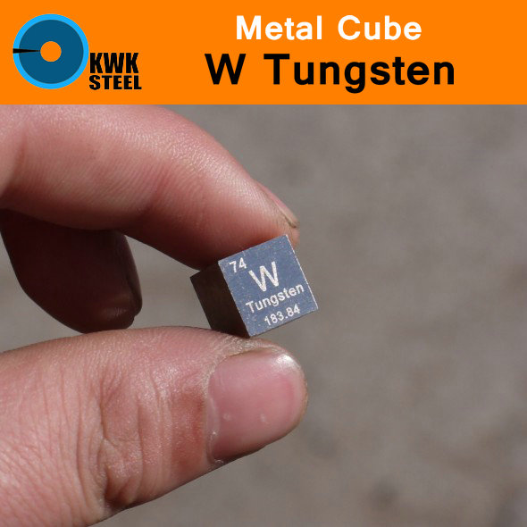 W Tungsten Cube Bulk Block Sheet Plate Pure 99.95% Metal Periodic Table of Elements for Research Study University Collection tungsten sheet plate for scientific research and experiment high purity
