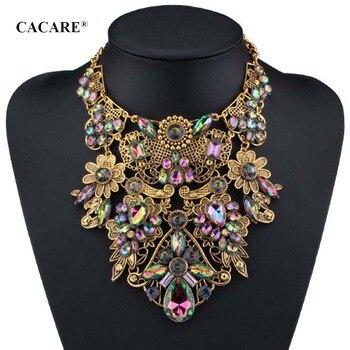 254ad694d1fd Gran colgante Gran Collar Maxi mujeres barato joyería de moda Collares de  declaración F1113 bohemio 3 opciones