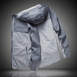Image 2 - New Thin and breathable Jacket Men with hood fashion super large mens Windbreak casual plus size XL 2XL 3XL 4XL 5XL 6XL 7XL 8XL