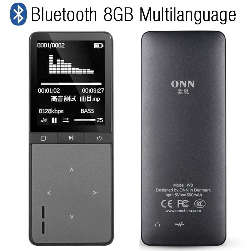 Unterhaltungselektronik Energisch Heißer 2018 Tragbare 1,8 lcd 8 Gb Bluetooth 4,0 Sport Mp3 Player Musik Audio Medien Radio Player SchöNe Lustre Mp3-player