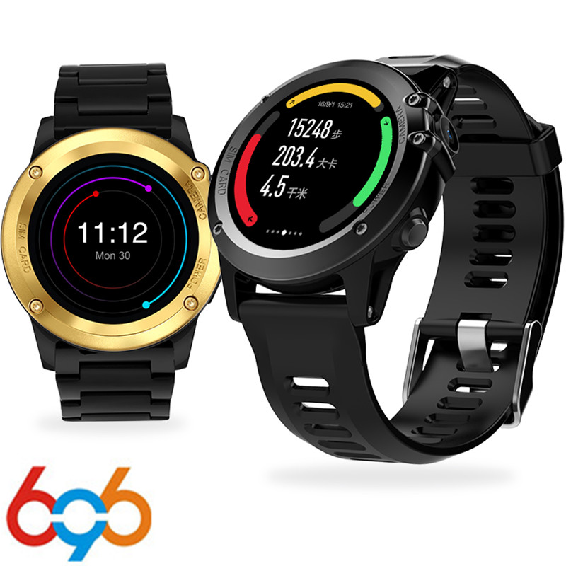 696 H1 MTK6572 Smart Watch IP68 Waterproof Heart Rate Tracker Pedometer Call/Sleep reminder 4GB 512MB 3G GPS Wifi For Android мобильный телефон onn v8 3g mtk6572 512mb 4g 5 0 4 2 5mp gps onn v8