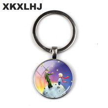 XKXLHJ 2018 Fashion The Little Key Chain Lessons From Netflix Adaptation Glass Cabochon Keychain Key Chain Women scott kays five key lessons from top money managers