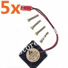 Wholesale 5Pcs Lot High Speed Cooling Fan 25 25mm for Motor Heat Sink DC Brushless Fan