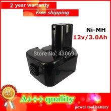 Para Hitachi 12 V 3Ah Ni-MH Reemplazo De Herramientas de Alimentación Batería Para Hitachi EB1212S EB1214L EB1222HL EB1230X EB1214S EB1220BL 322629