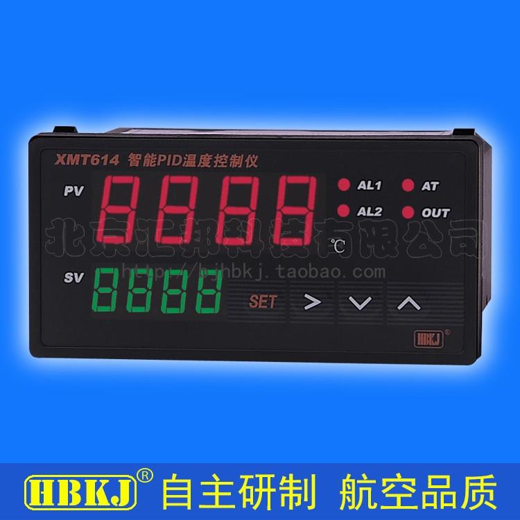 XMT614 intelligent PID temperature controller SSR/2 relay output bkc tme7711z intelligent temperature controller tme 7711z scr temperature controller k type 0 400