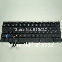 Brand New FOR Apple MacBook Pro 17 Unibody A1297 Swedish Keyboard Black