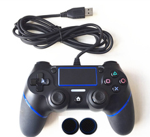 For PS4 Controller Updated 5.5 Wired Gamepad For Playstation Dualshock 4 Joystick Multiple Vibration 1.8M Cable For PS4 Console