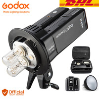 Free DHL Godox AD200 200Ws TTL HSS wireless Double Speedlite Flash +Transmitter Kit for Canon Nikon Sony Fuji Olympus Panasonic
