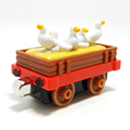 m013 New diecast magnetic Thomas and friend Children's toy train Farm Series duck transport trucks Limited Edition